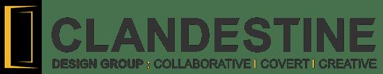 Clandestine Design logo