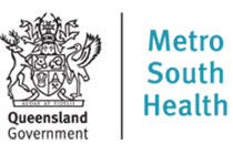 Qld Government Metro South Health logo